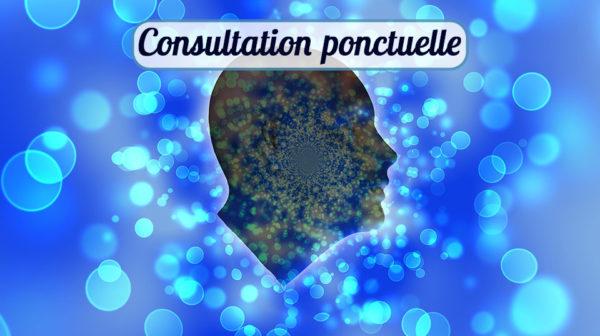 consultation psy avignon visage en ombre de profil sur fond bleu