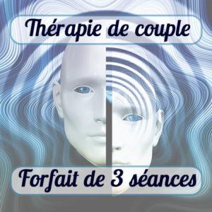 Thérapie de couple montfavet Visage homme et femme decale